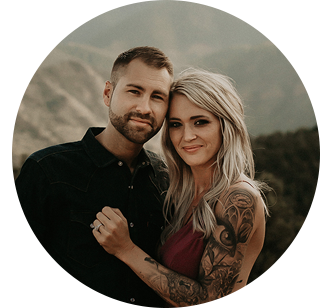 Photographer Christine Colter and Husband