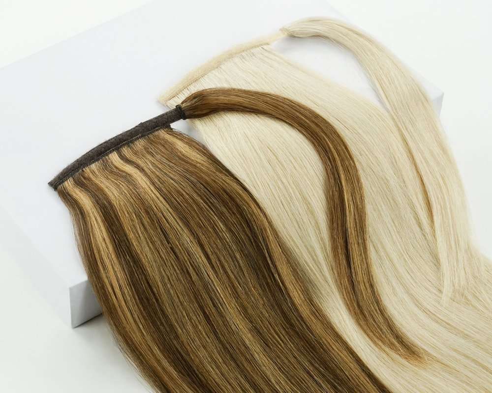 Joi Ponytail - Want a longer, thicker ponytail? Look no further, our ponytail hair addition helps you get that messy low Pinterest ponytail look without the years of waiting for your locks to lengthen.