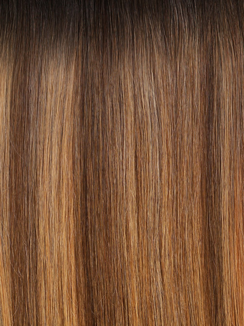 Caramel Brown Highlights #R2/479 - Dark and light join for an effortless marriage of natural color. This dimensional brown shade has a deep brown base that spans roughly 2