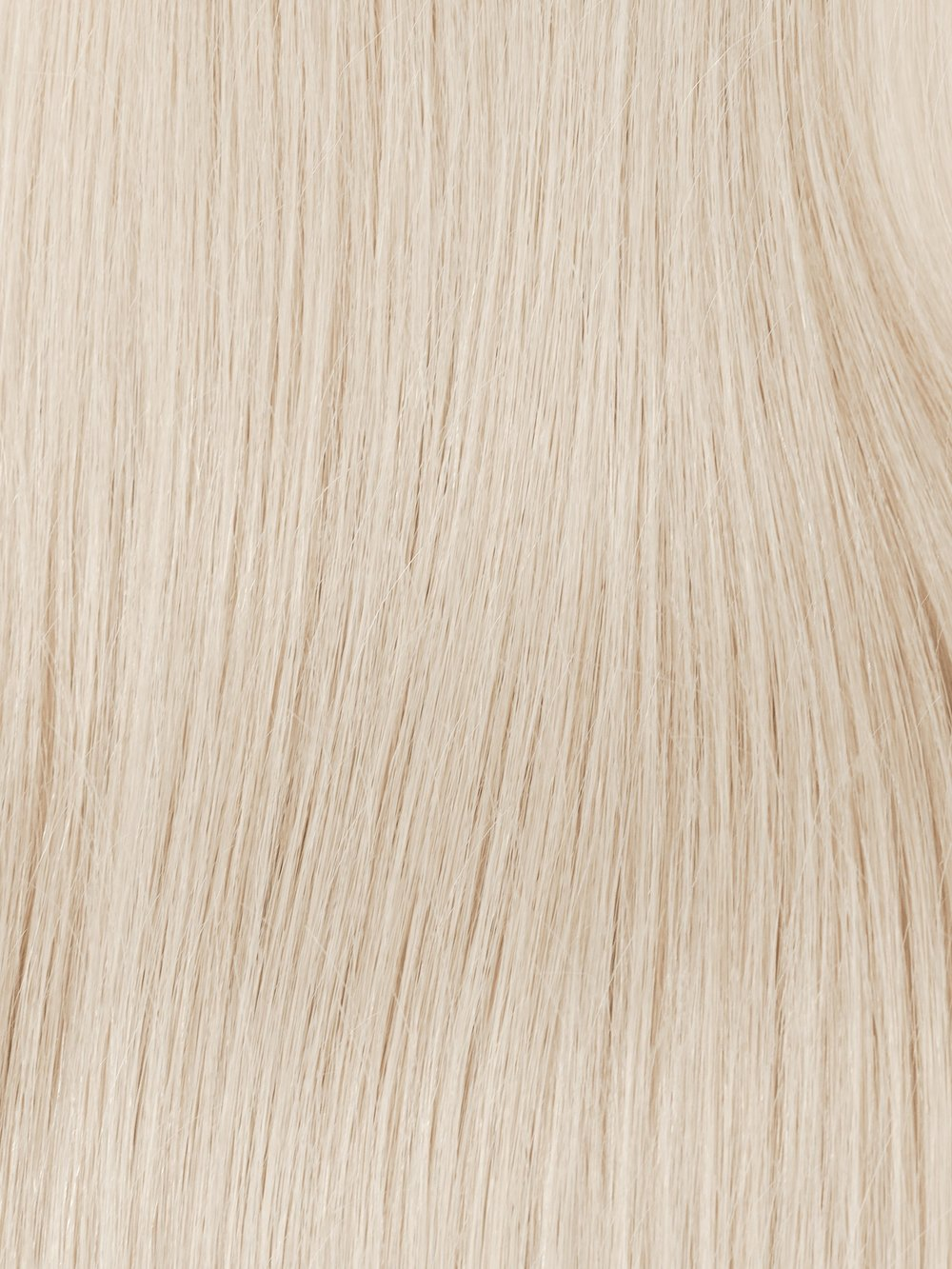 PLATINUM #60 - Our brightest blonde is near white in direct light. The cool toned platinum is mixed with wisps of yellow to achieve an overall adventurous neutral tone that is bound to turn heads wherever it goes.