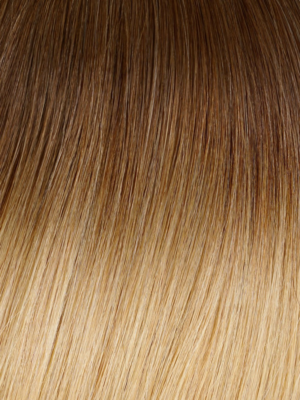 CINNAMON BALAYAGE #T4/12 - A warm brown shade seamlessly transitions into an ashy blonde for this toasty cinnamon blend. The top half of our cinnamon ombre contains a medium brown that transitions into a lighter cinnamon color brown.