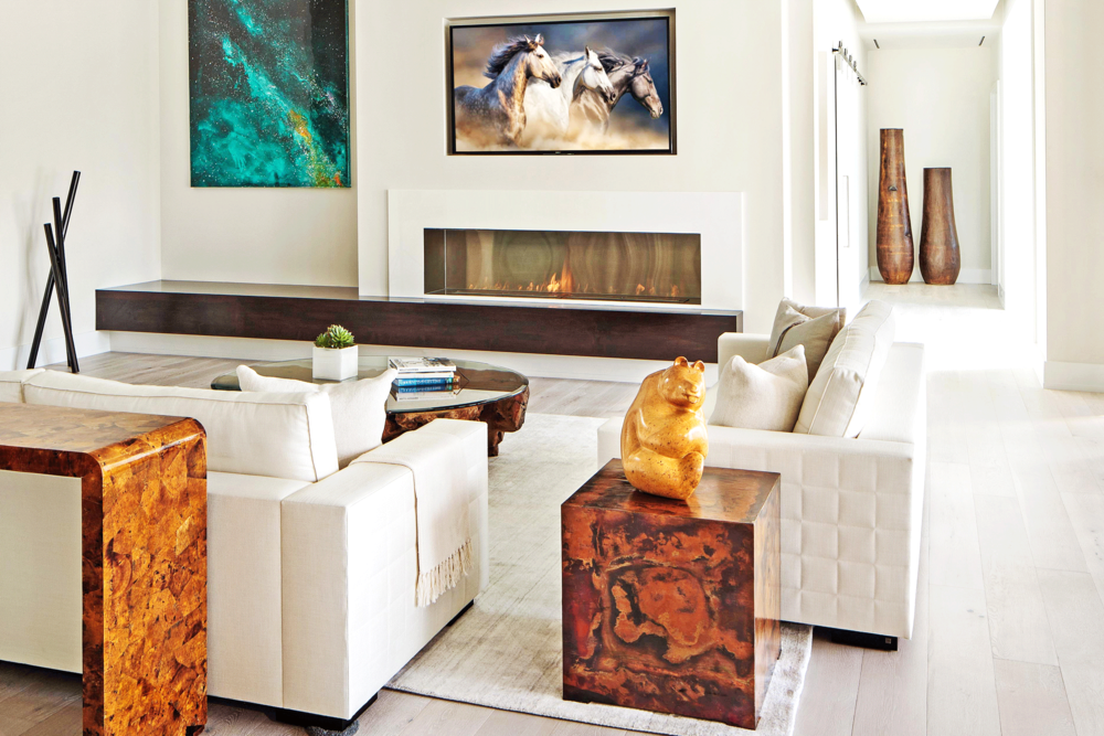 Naples Residence // Living Room