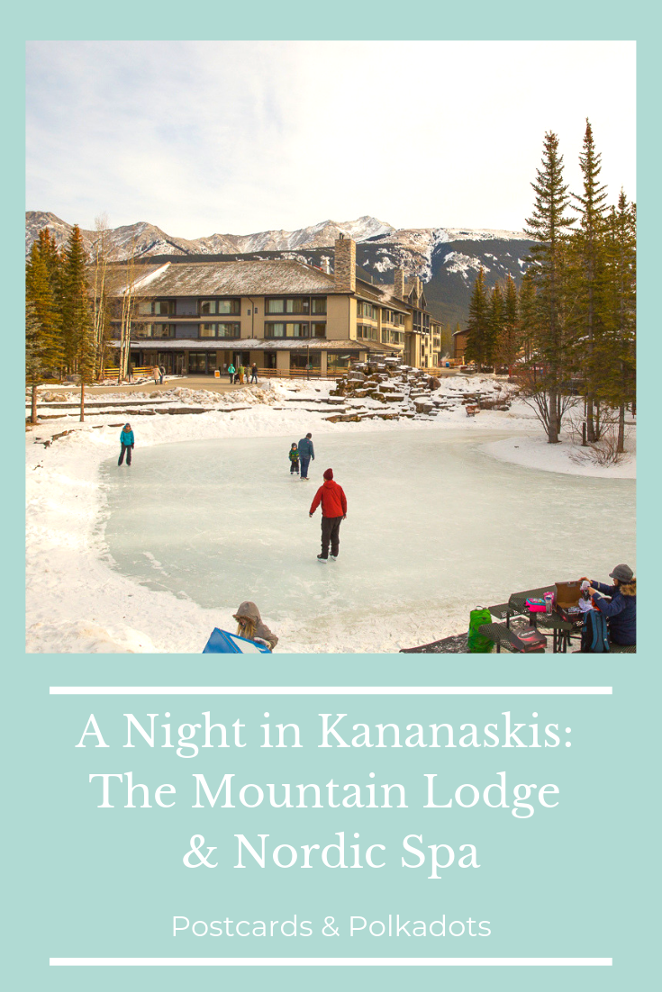 A Night at the Pomeroy Mountain Lodge and the Kananaskis Nordic Spa