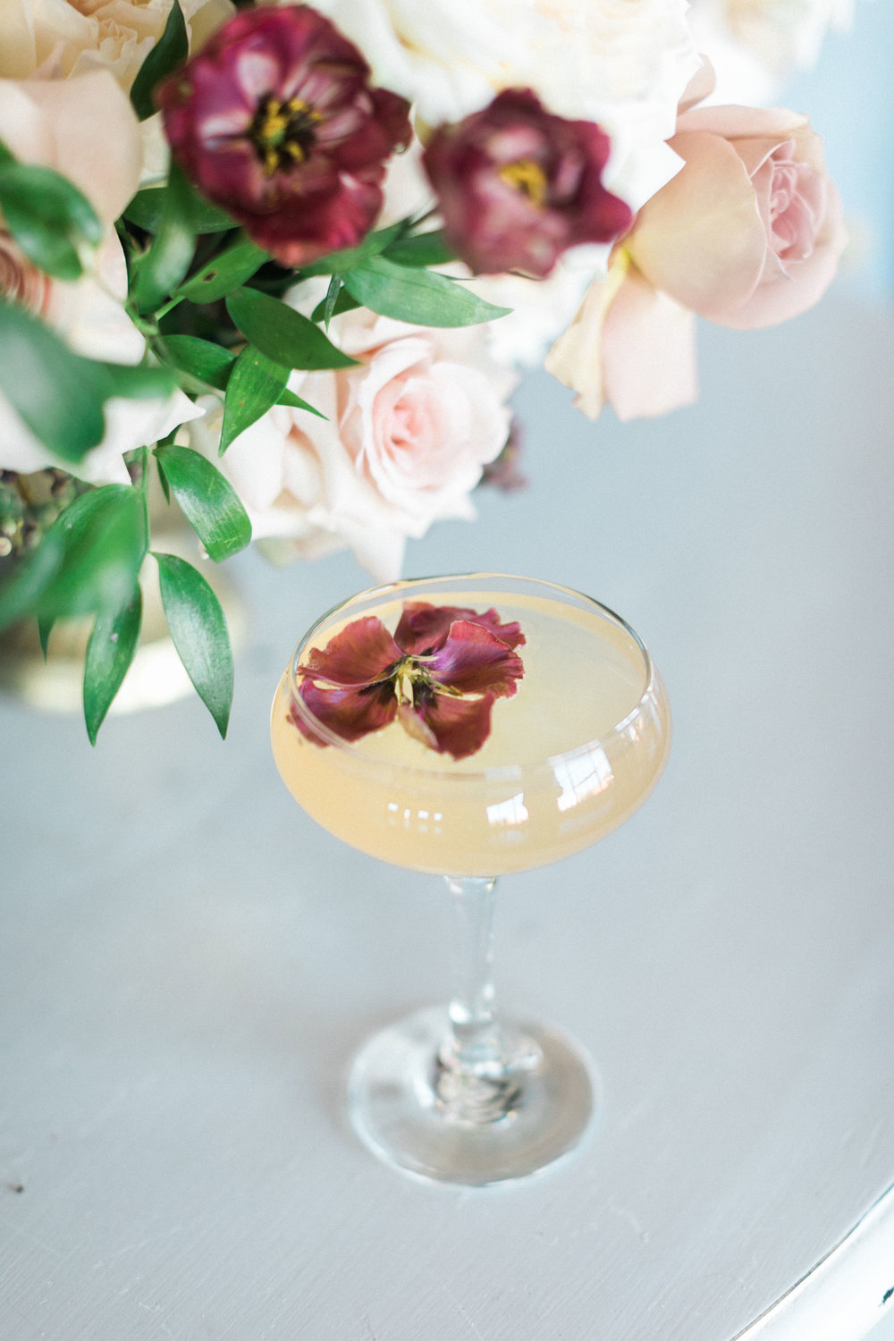 Fizz and Floral: A Creative Pairing of Speciality Beverages and Beautiful Blooms  - Brides of North Texas