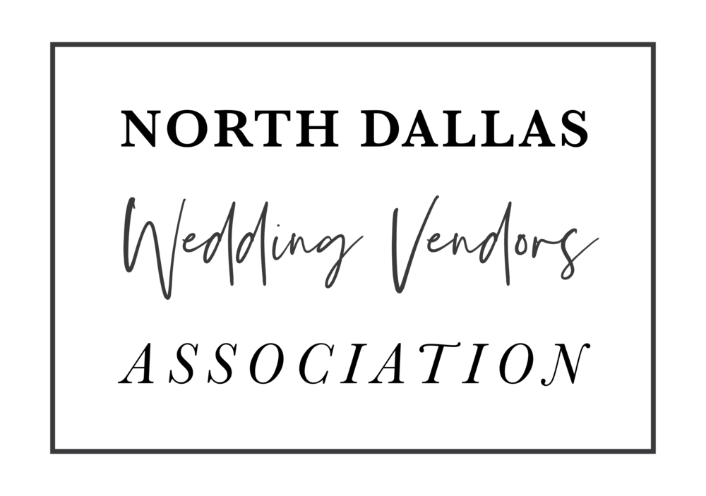 North Dallas Wedding Venders Association - A collection of wedding professionals who continue to provide 5-star product and services year after year who proudly serve the North Dallas region.