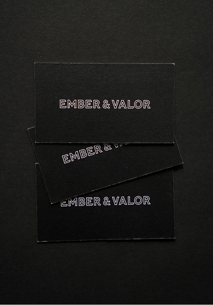 Studio Freight - Ember & Valor Business Cards