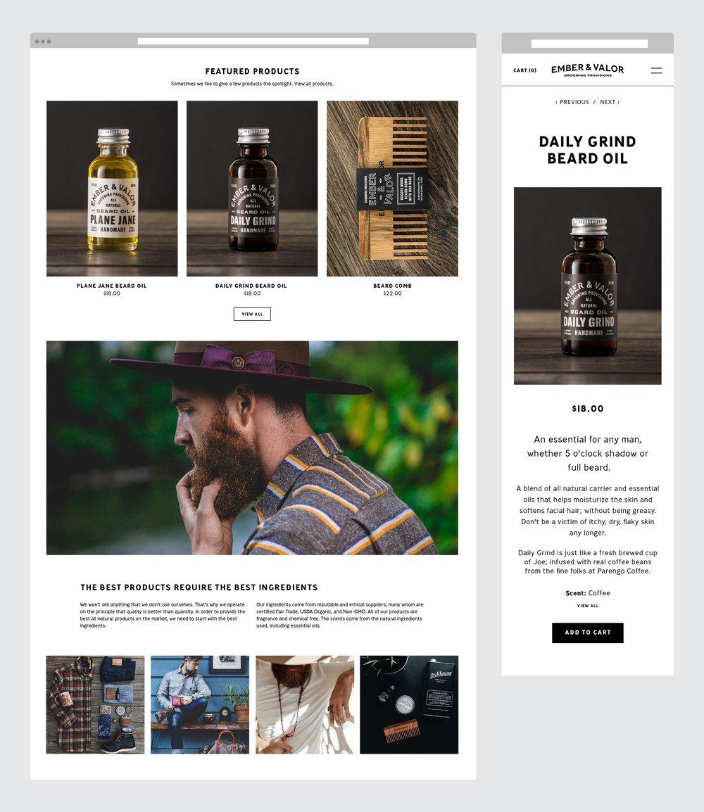 Studio Freight - Ember & Valor Website