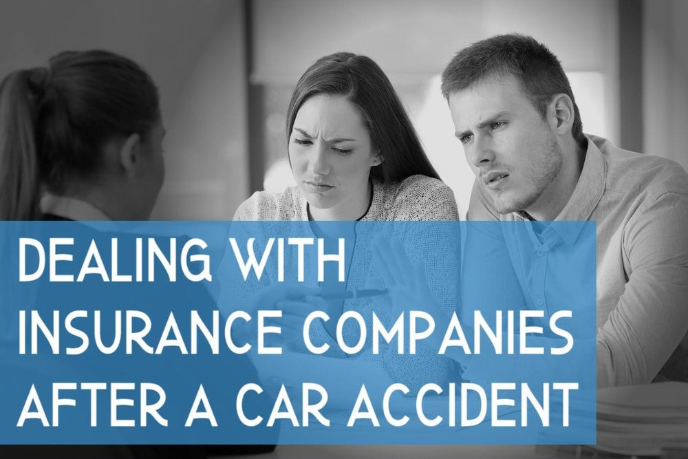 Dealing with insurance after an accident