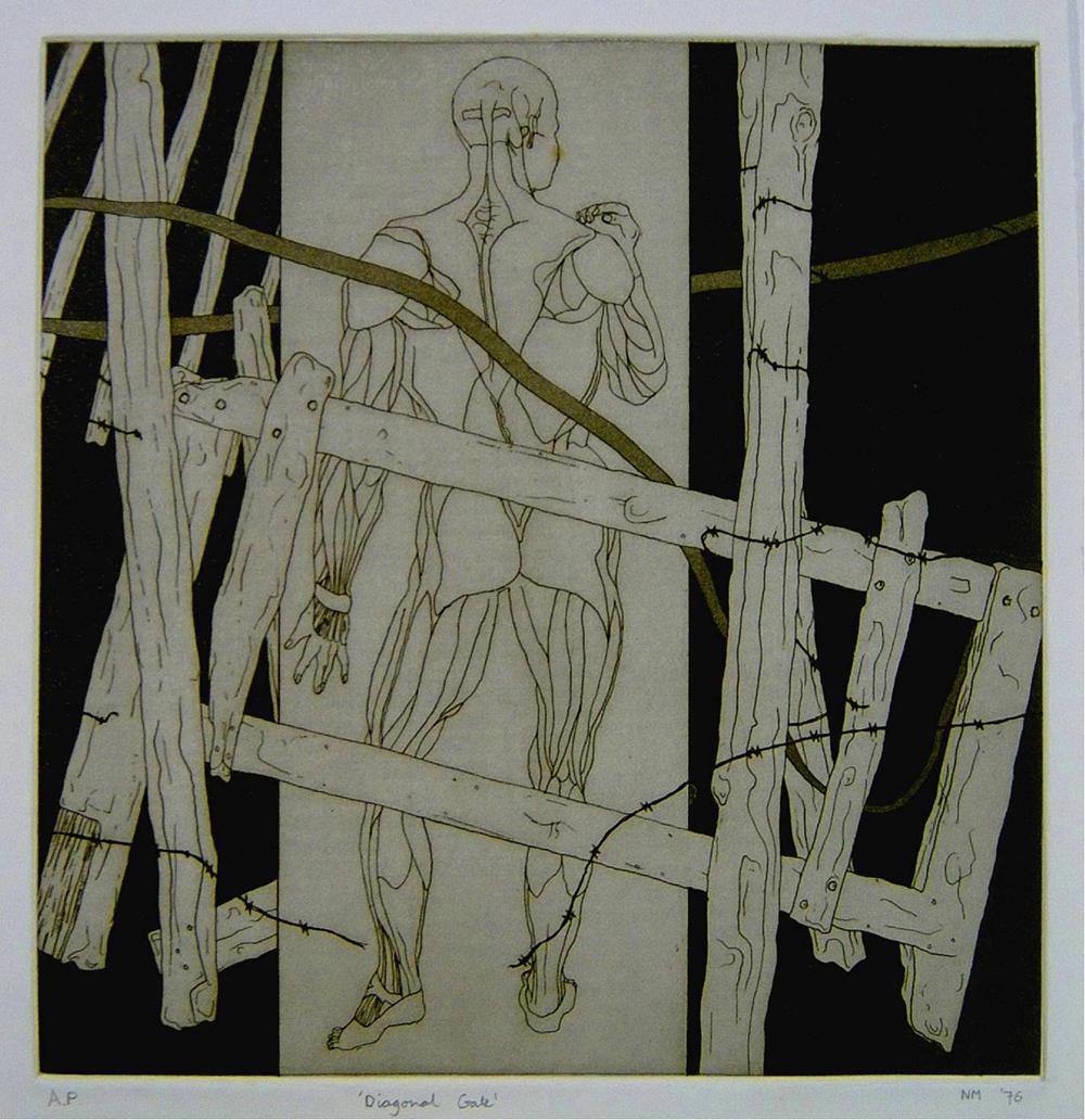Diagonal Gate (artist's proof 1)