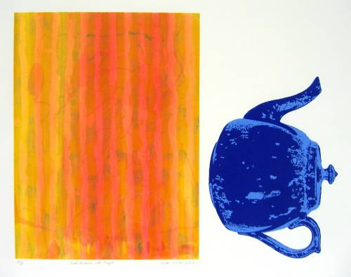 Self-Portrait with Teapot (artist's proof)