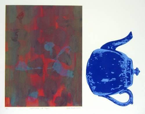 Self-Portrait with Teapot (6/12)