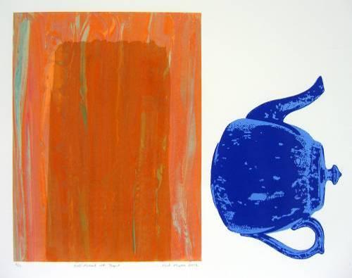 Self-Portrait with Teapot (8/12)