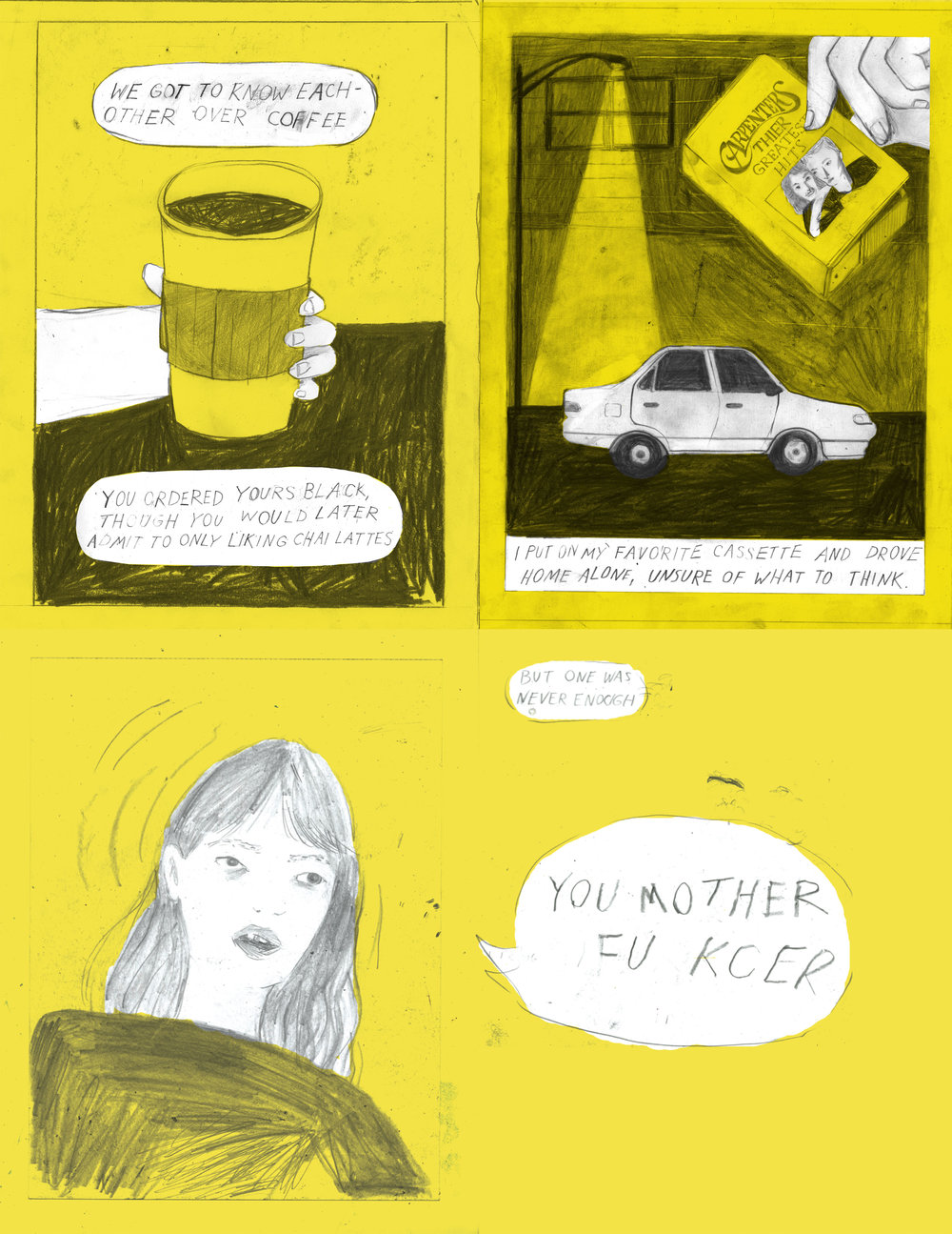 yellow comic compliation art car .jpg