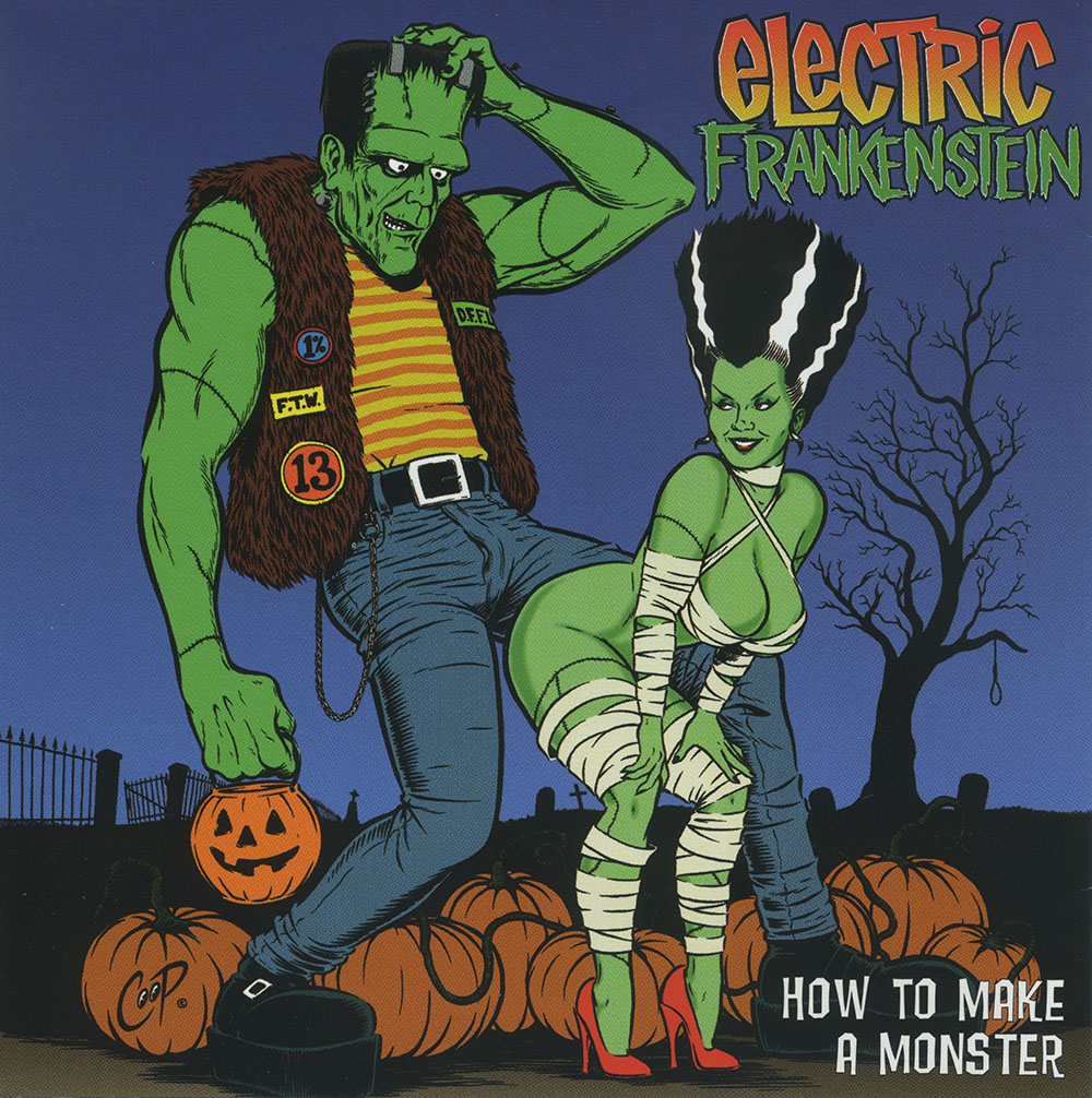 How To Make A Monster - 6. How To Make A Monster (Victory Records LP/CD 2000) OUT OF PRINT with semi-nude photo of Julie Strain as Bride of FrankensteinCover art by Coop!I Was a Modern Promethious (Intro)Cut From the InsideSpeed GirlUse MeFrictionFeel The Burn (Chronic)Don't Know How to Stop YouMy WorldUp From the StreetsPretty DeadlyI'm Not Your NothingSomething for the PainPhatty Boom Batty