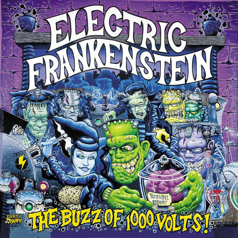 The Buzz of a 1,000 Volts - 9. The Buzz of a 1,000 Volts(Victory Records - USA 2001)OUT OF PRINTproduced by Ben Elliot1. The Mess2. Dead on Beauty3. Resurrection City4. Prey For Me5. NY Knights6. Dead By Dawn7. Super Sonic Nation8. Bite Down on Me9. Death Dealer10. Can't Let Go11. Finished from the Start12. American Lies13. Cocaine Blues (TP Arnold/Johnny Cash cover) CD only