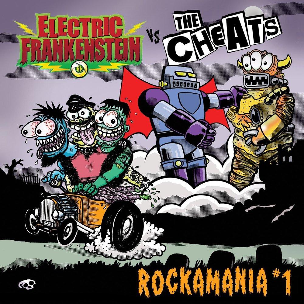 Electric Frankenstein / The Cheats split 12