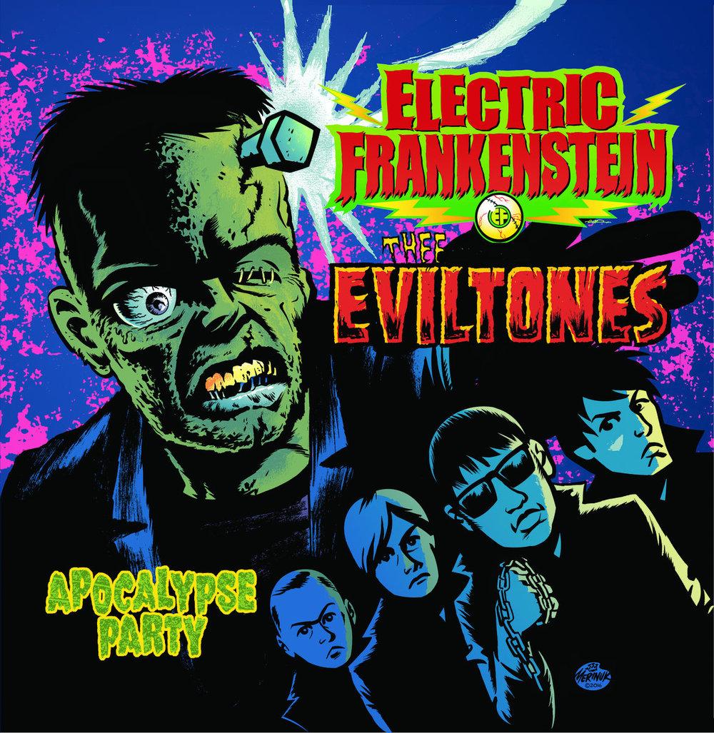 Electric Frankenstein / Thee Eviltones split - 16. Electric Frankenstein / Thee Eviltones split LP