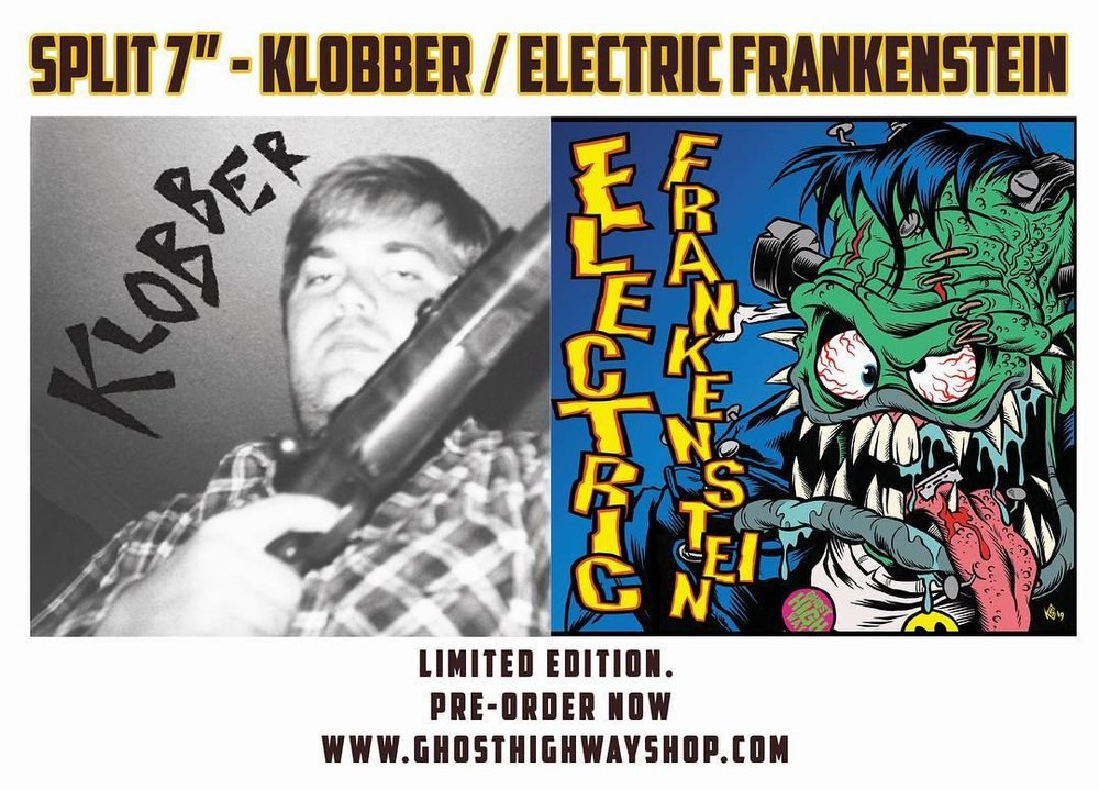- 2 - EF - Klobber split singleGo to Ghost Highway Records Facebook page and get them while they are hot!