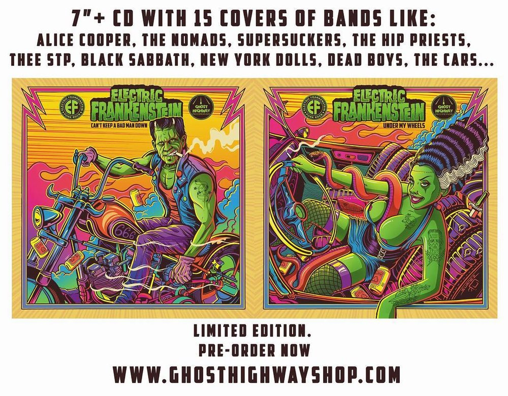 - OK, 5 new EF records coming out by July. Here are 2 of them on Ghost Highway Records.1 - EF cover songs 7