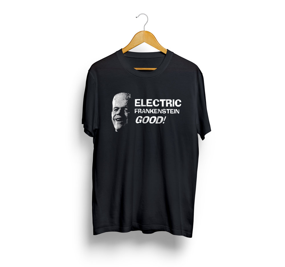 - A refreshed classic design. Electric Frankenstein GOOD!