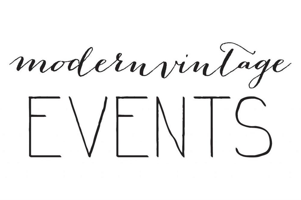 modern vintage events
