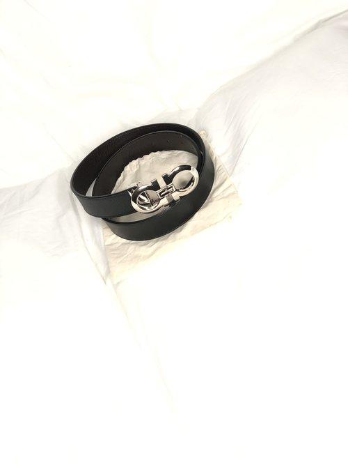 8e4df42c41 Adjustable & Reversible Mancini Ferragamo Belt
