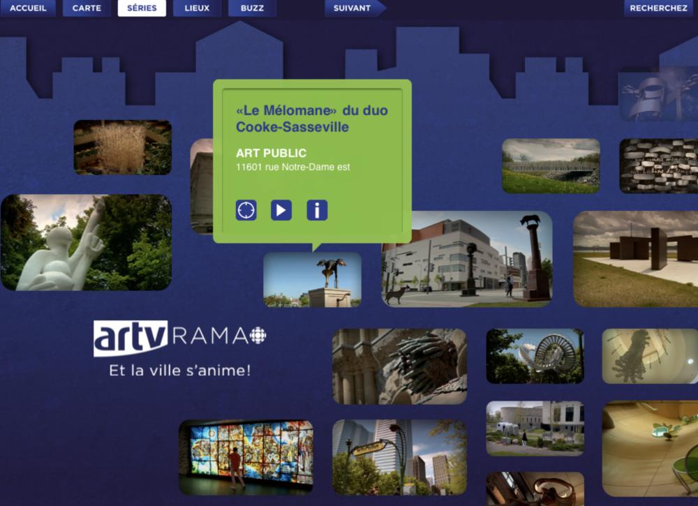 ArtvRama iPad App - Artv