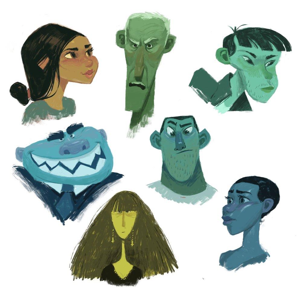 Character design -