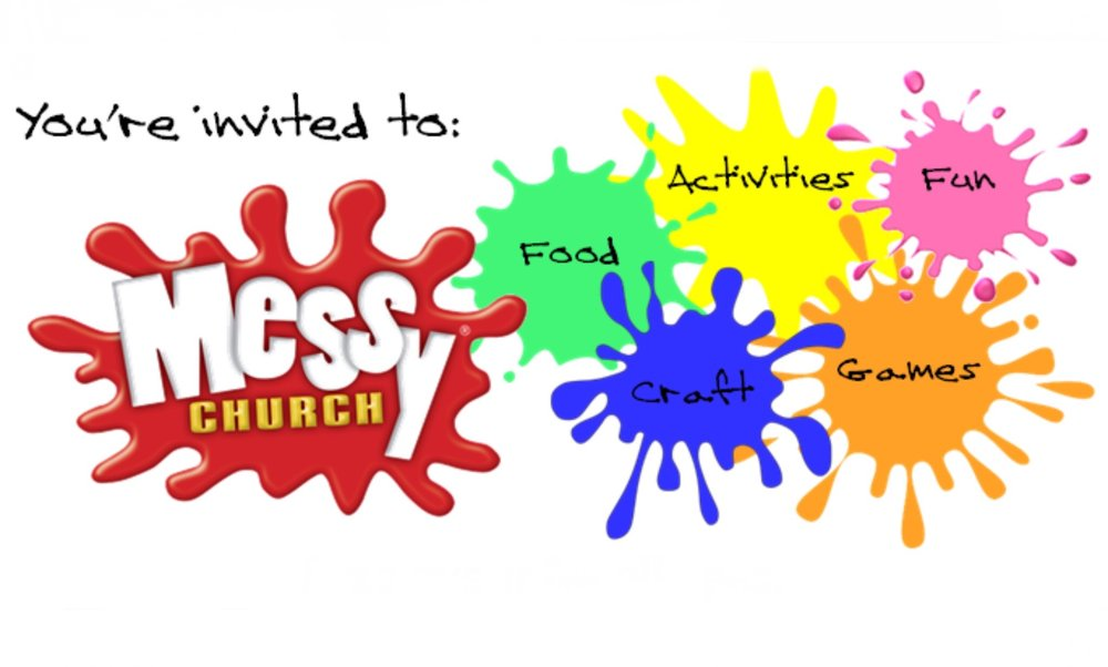 Messy Church - Exactly what it says on the tin. Following the format of the super-successful national franchise of 'Messy Church', we've squeezed up to 110 adults and little people into the Orchard Rooms for lots of messy crafts and activities, a short time of family-friendly worship, and a well deserved meal.This meets on Sunday usually every other month from 4-6pm.See events page