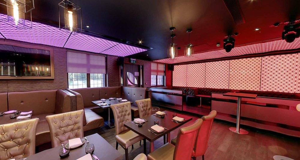the Venue5 restaurant