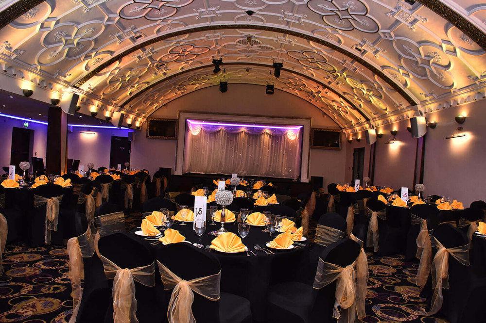 emty Venue5 Restaurant before an event