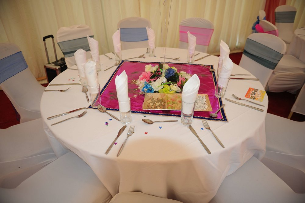 ready tables at a Venue5 location