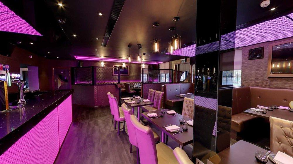 the Venue5 bar