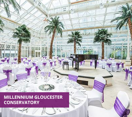 Venue5 Event at the Millenium Gloucester Conservatory