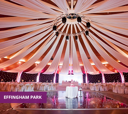 A Venue5 event at the Effingham Park