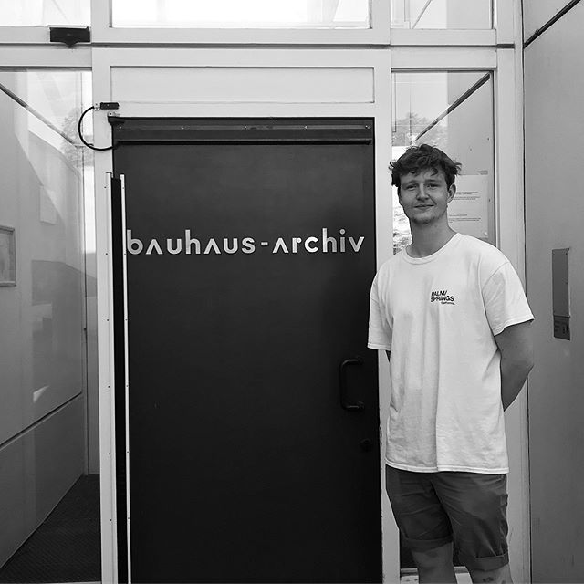 Went on a lil design pilgrimage to the Bauhaus Archive 🔶🔺🔷◾️🔴