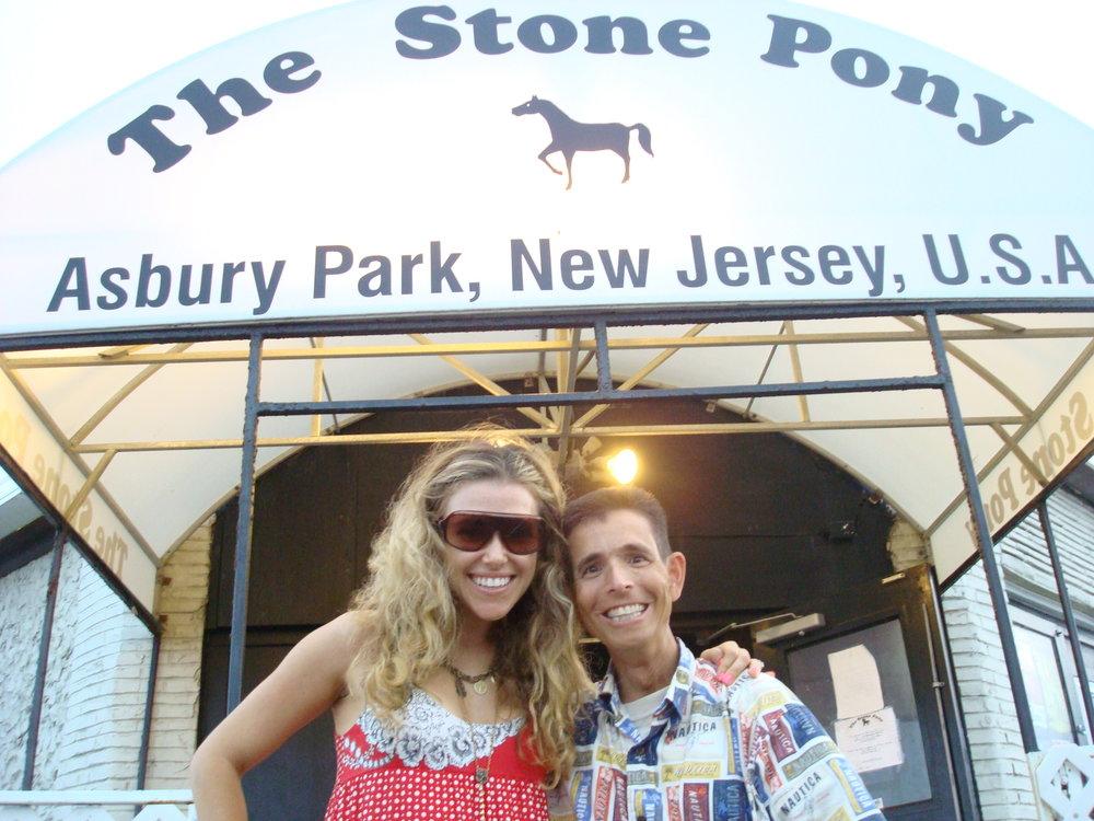 With my cousin Rachel Platten