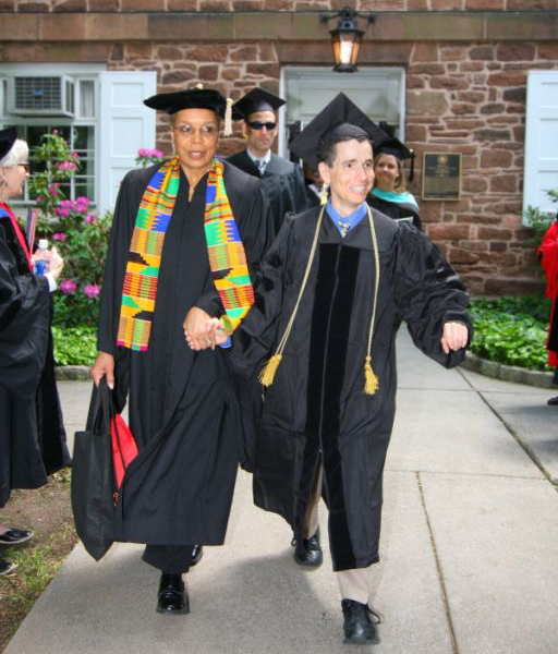 Walking at Commencement