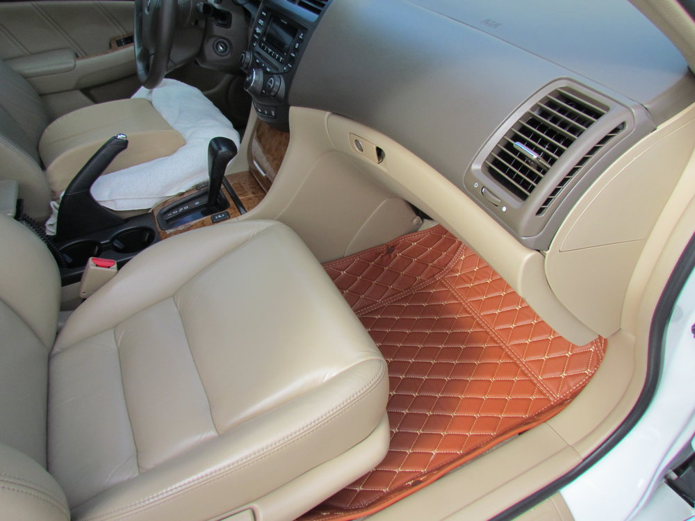 Leather Floor Mats!