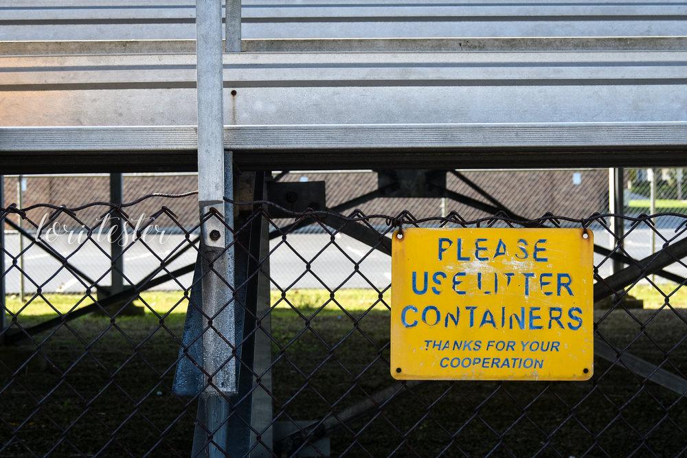 Do Not Litter