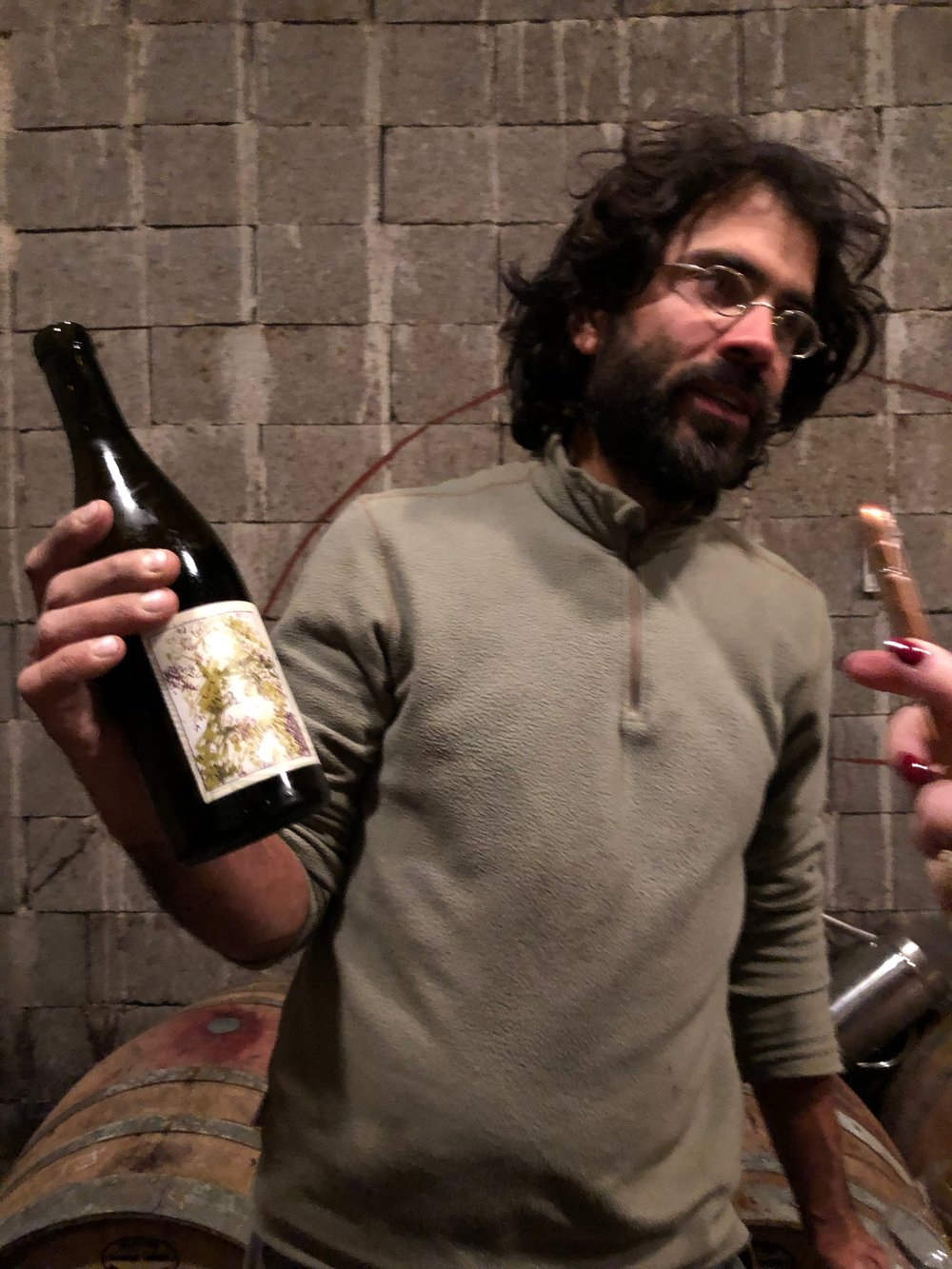 Pablo Hocht introduces his first white wine at Domaine Creve-Coeur
