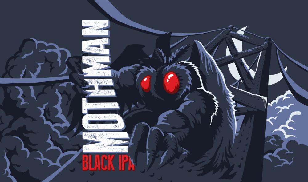Mothman Black IPA