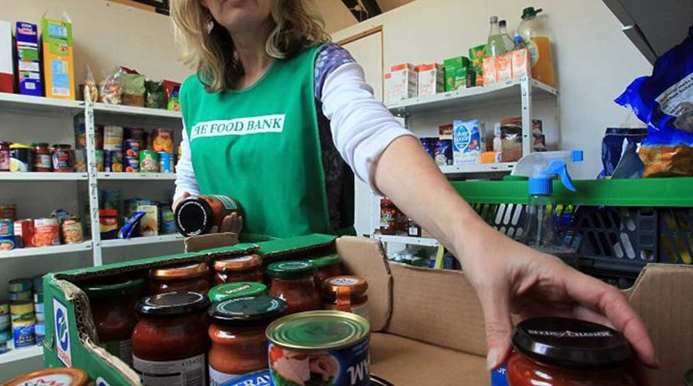 Parkwood Food Bank   Each month the food bank serves over one hundred children and adults.