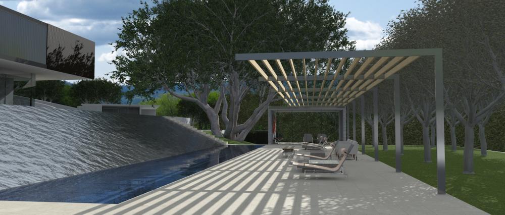 unbuilt  atherton, ca  landscape architect | Christopher Yates from FIELD Landscape Architecture