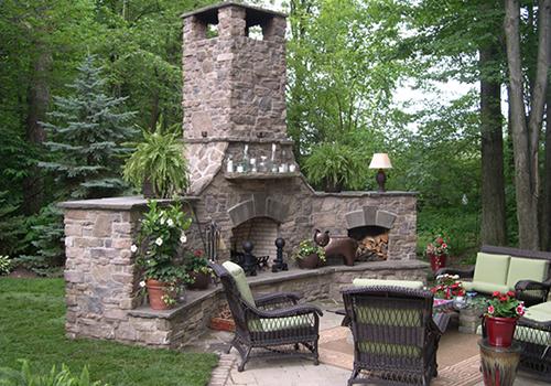 Award-winning landscape installation near Cleveland, Ohio