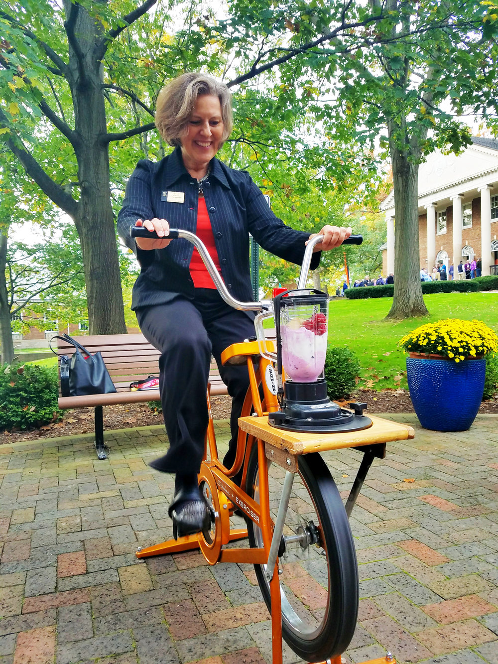 Corporate Wellness Bike Blender