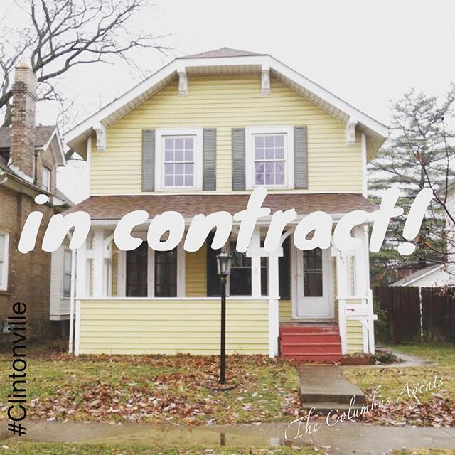 Awesome Clintonville home in contract. Buyers are going to do some fun stuff to this place. Yeah Congrats! 🎈🏡 #thecolumbusagents . . . #columbus #ohio #clintonville #remodel #realestate #onlyincbus #asseenincolumbus #cbus #realtor #househunting #onlyincolumbus #realtorlife #columbusagents #remax #asseenincolumbus #614 #columbusalive #columbusrealestate #realtorlife #columbusOH