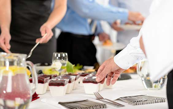 Full Service Catering -