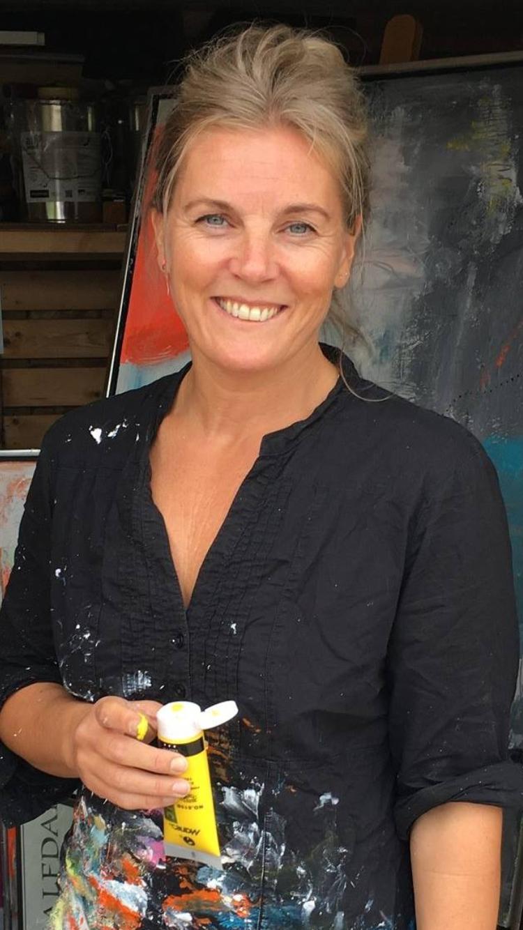 Malerier på bestilling - Akryl på lærred, størrelser og farvevalg efter dine ønsker