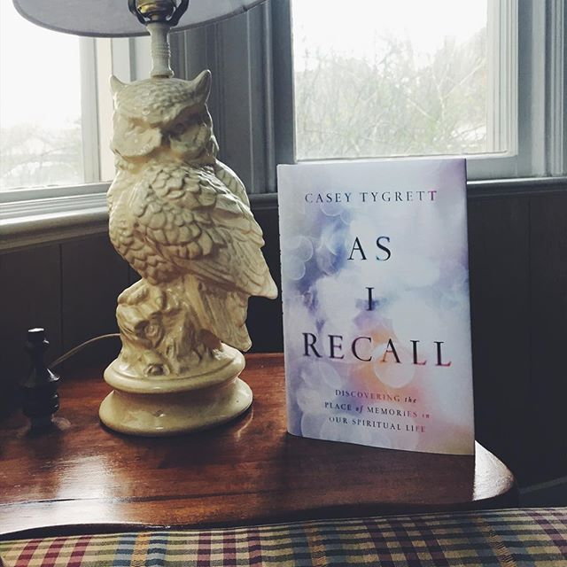 The new one, As I Recall: Discovering the Place of Memories in our Spiritual Life, by @cktygrett is out today. As someone who spent the past year living in Saint Augustine's memories, this book is a perfect follow-up.